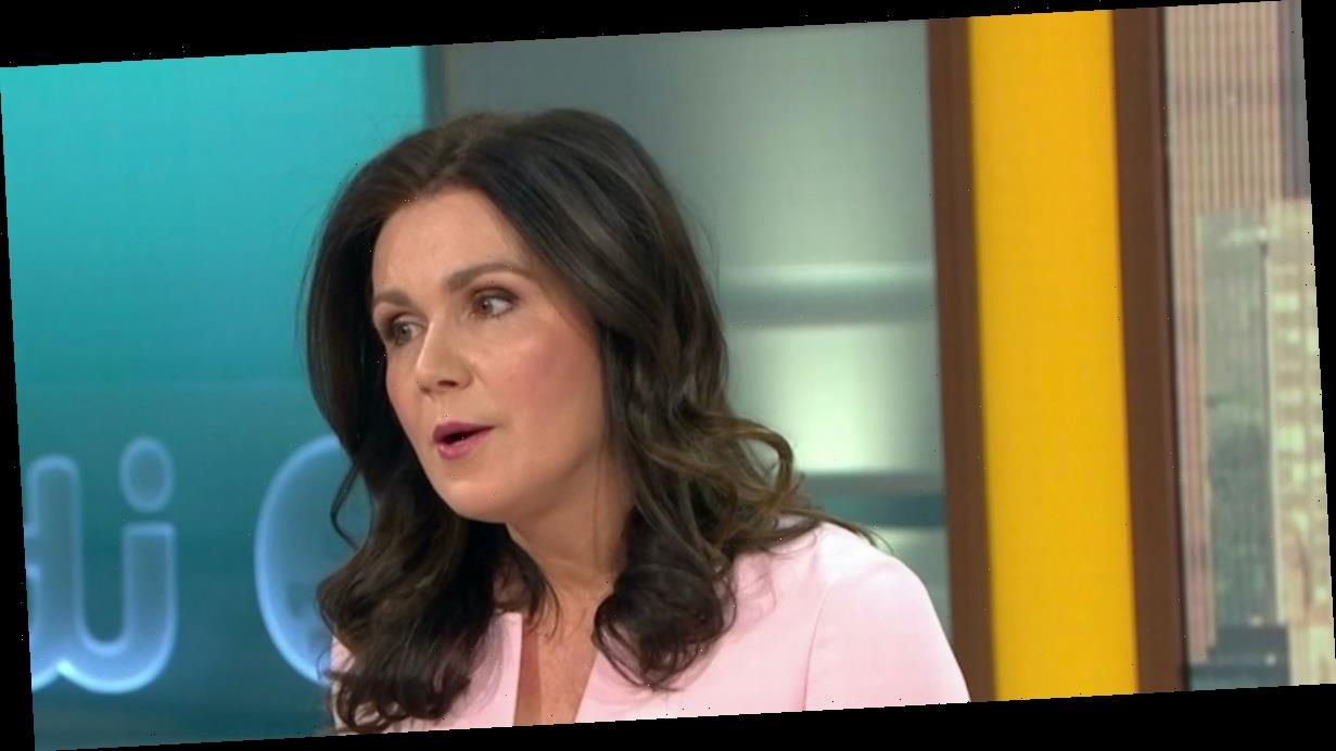 Susanna Reid comforted as co-star checks if she's 'alright' after Piers' exit