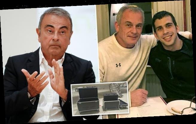 Two Americans wanted in Carlos Ghosn's escape are in Japanese custody