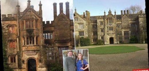 SEBASTIAN SHAKESPEARE: Rave king raises mansion from the ashes