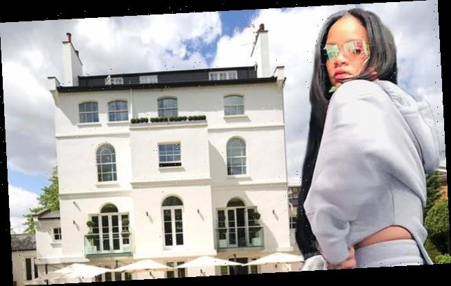 Rihanna's rented London mansion has $6.3M slashed from asking price