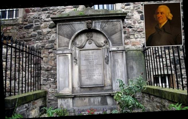 Adam Smith's grave included in sites linked to slavery and colonialism