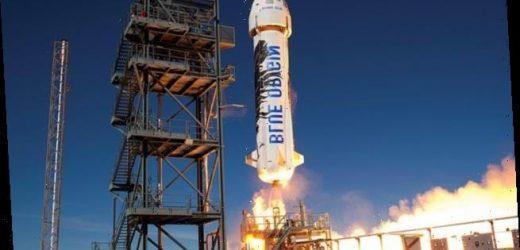 Blue Origin plans to create moon-like gravity inside its New Shepard