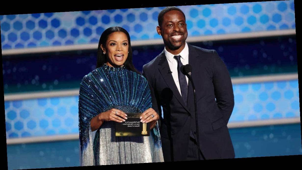 Sterling K. Brown and Susan Kelechi Watson's Golden Globes Reunion Made My Whole Night