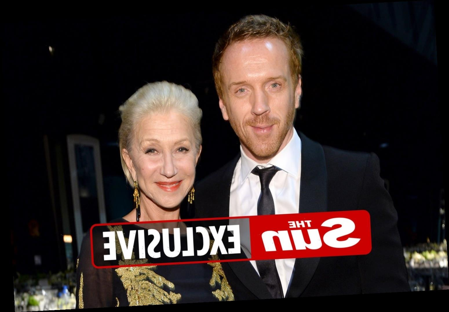 Unlikely duo Dame Helen Mirren and Damien Lewis team up to record album for Queen's 95th birthday