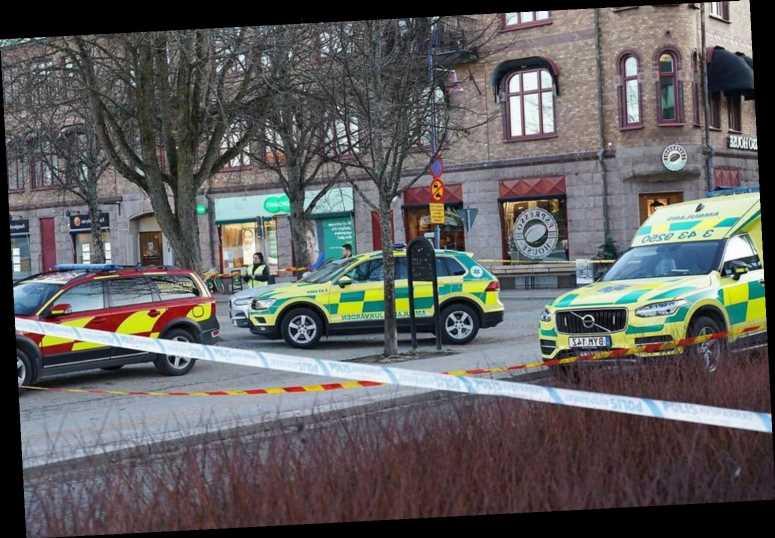 Cops shoot knifeman after eight people stabbed in suspected terror attack in Sweden