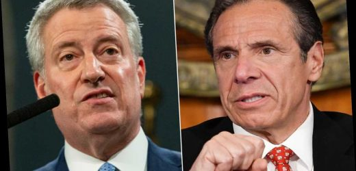 Cuomo rips de Blasio, NYC amid apology over sex harassment claims