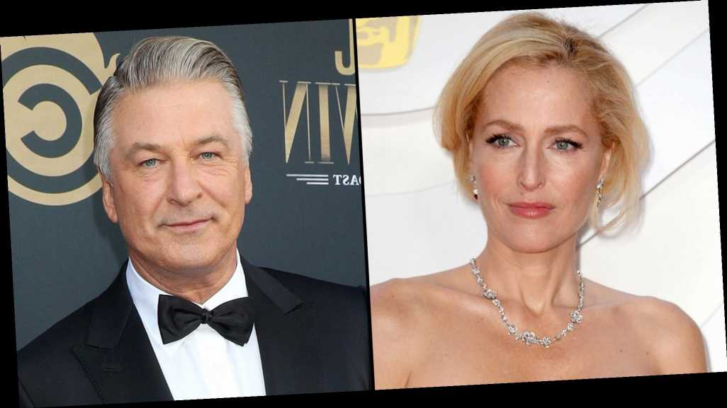 Gillian Anderson Addresses Remarks on Her Accent After Alec Baldwin's Joke