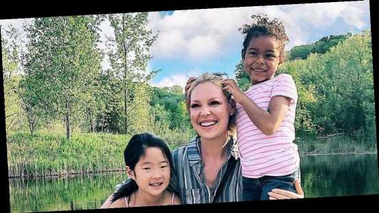 How Katherine Heigl Talks to Her Daughters About Their Biological Mothers