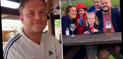 'Fit and healthy' dad, 40, dies of Covid leaving behind devastated kids, aged 4, 7 and 10