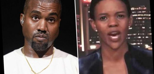 Candace Owens says Kanye West is 'richest black man in US history in world of celeb puppets' as she feuds with Cardi B