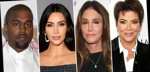 Kris and Caitlyn Jenner Break Silence on Kim Kardashian and Kanye Divorce