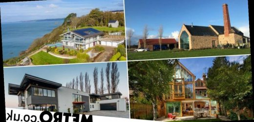 The most stunning glass and light-filled homes on sale around the UK