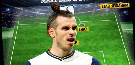 Gareth Bale names dream Tottenham five-a-side team and says Cristiano Ronaldo is best he's ever played with