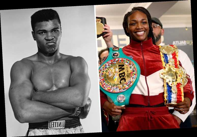 Claressa Shields says '98 per cent of men in the world can't beat me' and only Muhammad Ali is ahead of her in GOAT row