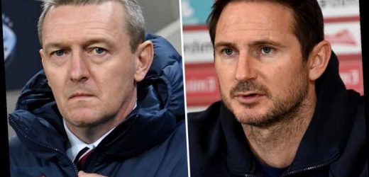 Frank Lampard shock candidate to become new England U21s boss with Chelsea hero seen as possible Boothroyd replacement