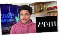 """Trevor Noah Rips """"Oscars' Weird Foreign Cousin"""" Golden Globes & HFPA, Digs Into Cuomo's Allegations"""