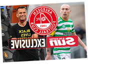 Celtic skipper Scott Brown to become Aberdeen player-assistant IF Stephen Glass lands manager's job at Pittodre