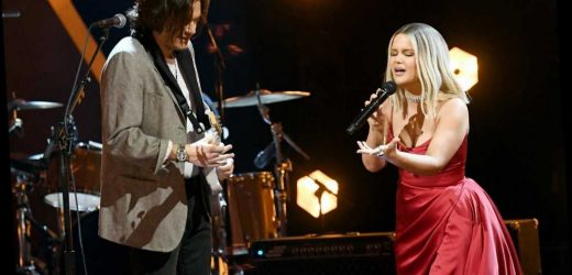 Maren Morris Performs with 'My Friend' John Mayer at the Grammys