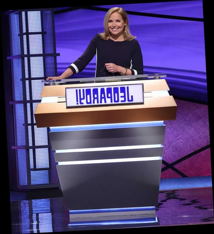Katie Couric Kicks Off Her 2-Week Stint as Guest Host of Jeopardy!
