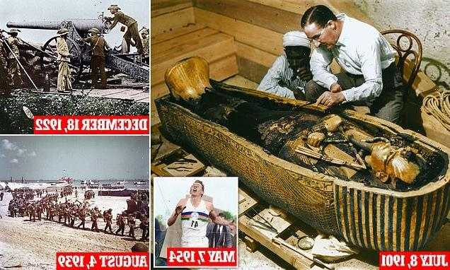 125 years of the Daily Mail: How paper broke open Tutankhamun's tomb