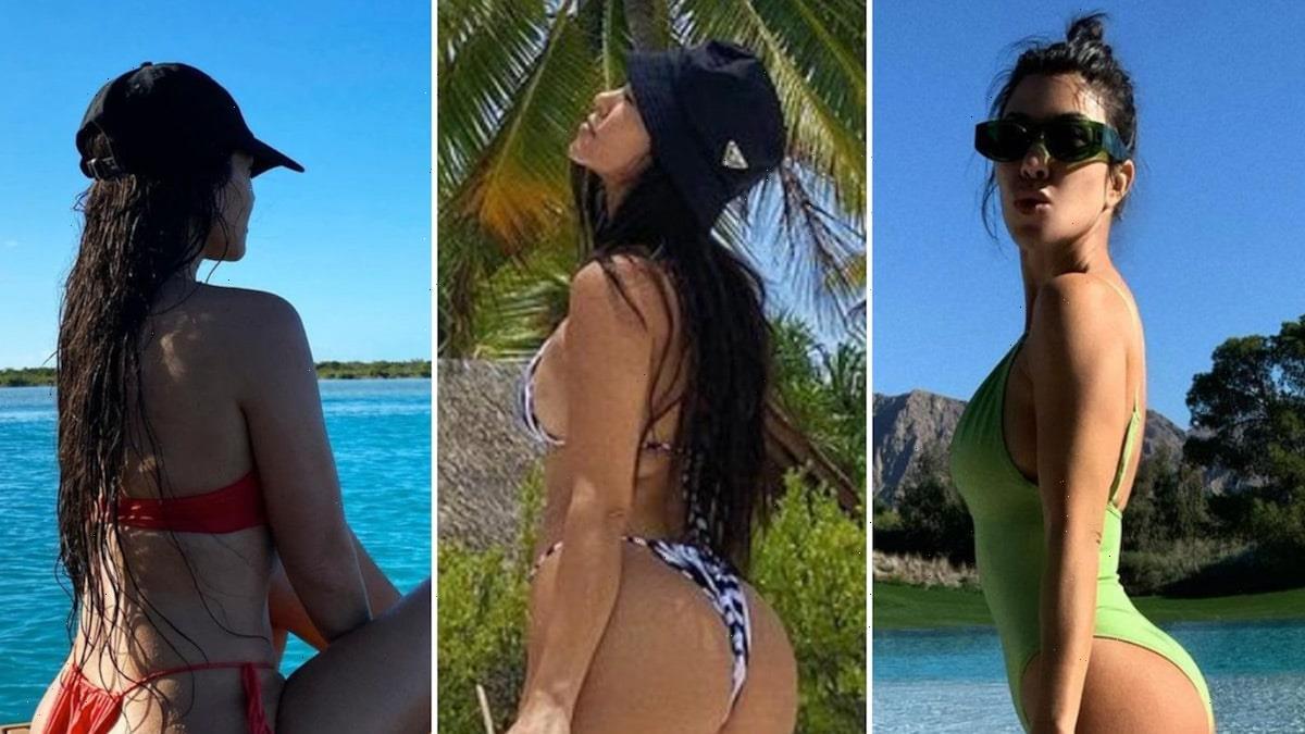 42 Booty-ful Shots Of Kourtney Kardashian's Birthday Kakes!