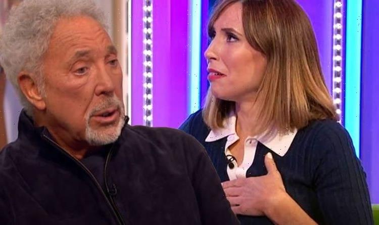 Alex Jones fights back tears as Tom Jones shares what late wife Linda said on her deathbed