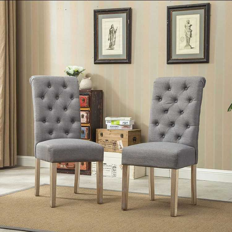 Amazon Shoppers Are 'Shocked' at How Expensive-Looking This Affordable Set of Chairs Is