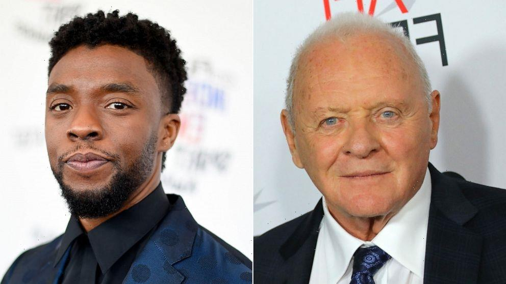 Anthony Hopkins honors Chadwick Boseman in belated Oscars acceptance speech