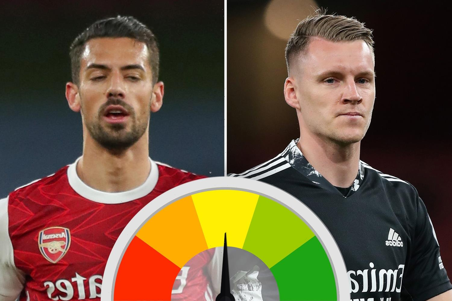 Arsenal ratings: Nightmare clanger from Bernd Leno but Pablo Mari shines on miserable night to forget for Gunners