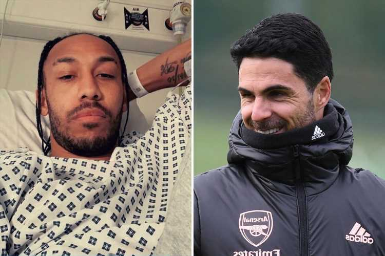 Arsenal star Aubameyang already 'ready to come back' despite spending 'a few days in hospital this week' with malaria