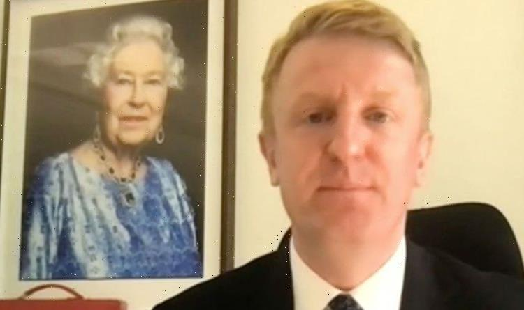 BBC Breakfast viewers baffled by Oliver Dowden's picture of Queen: 'What's going on?'