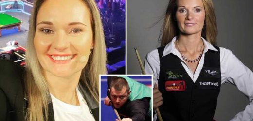 BBC told pundit Reanne Evans to LEAVE studio after her snooker star ex Mark Allen said she was a 'distraction'