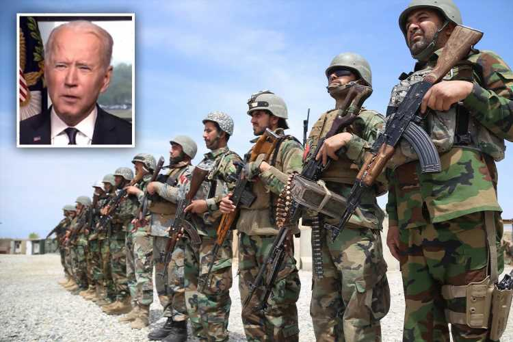 Biden announces US will withdraw all troops from Afghanistan by 9/11 'to end America's longest war'