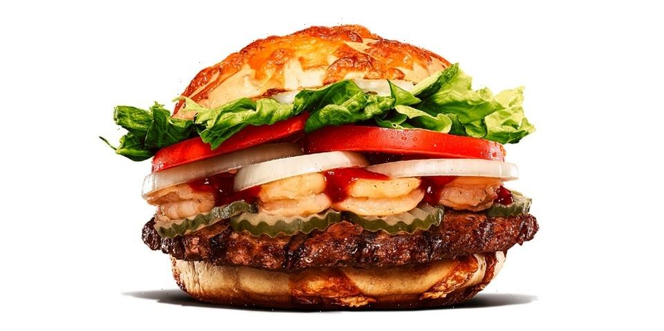 "Burger King Japan Stacks Up New ""Shrimp Spicy Ugly Beef Burger"""