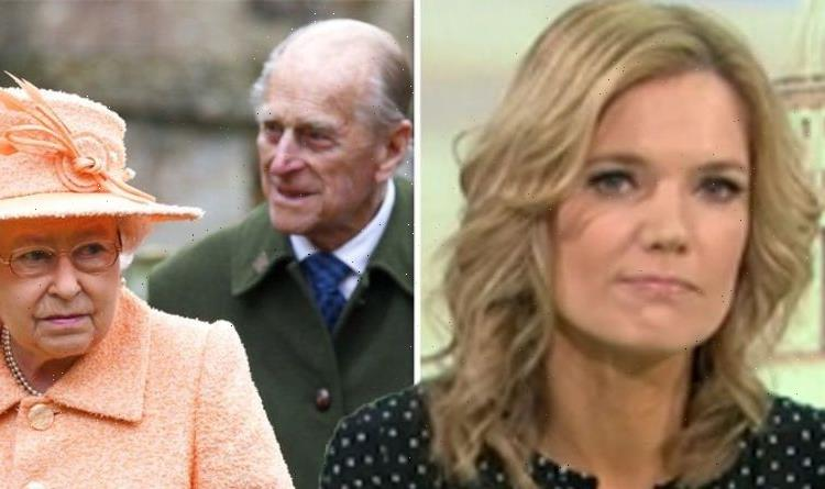 Charlotte Hawkins warned to 'move out of the way' by Prince Philip 'Don't block the Queen'
