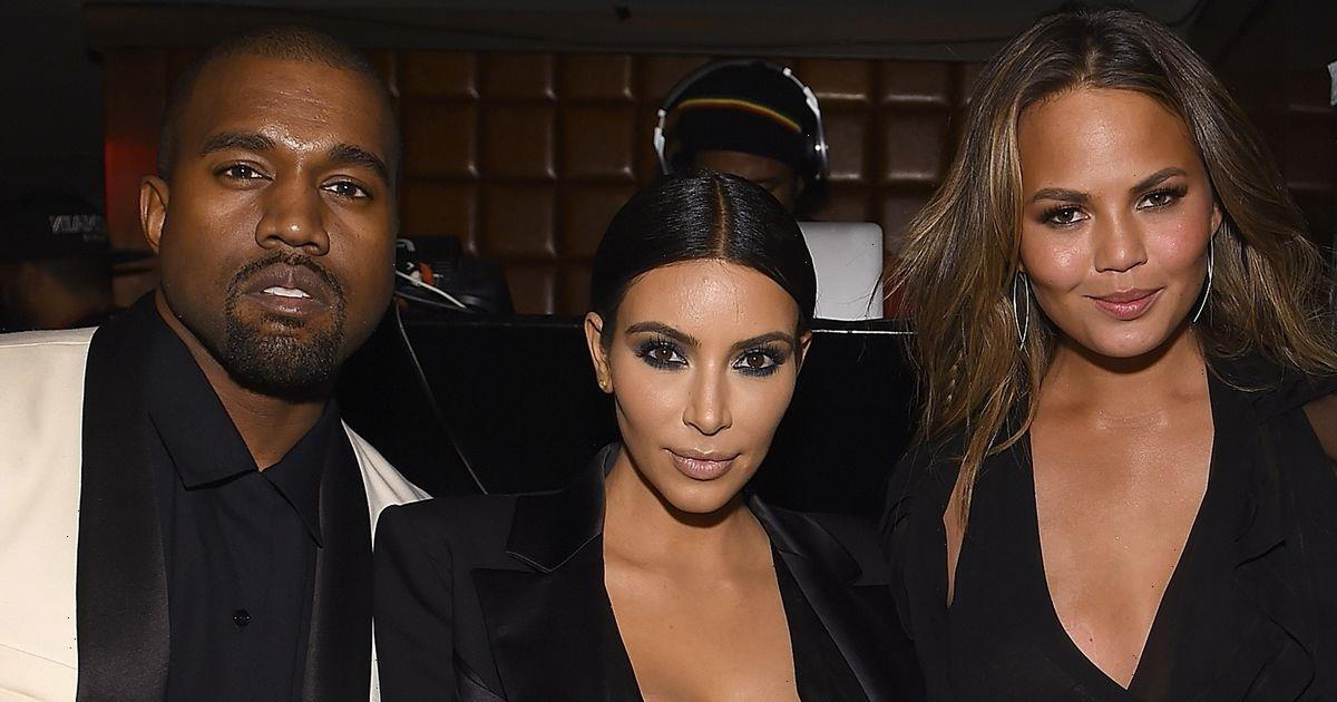 Chrissy Teigen says Kim Kardashian gave Kanye West marriage 'her all' and 'tried her best' before filing for divorce