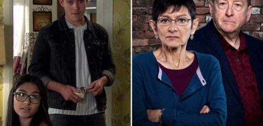 Coronation Street fans spot terrifying clue about fate of Corey Brent and Asha Alahan
