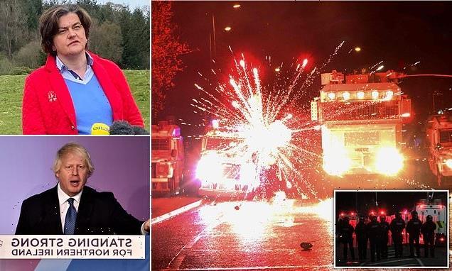 DOMINIC LAWSON: Belfast riots and Boris Johnson's border betrayal