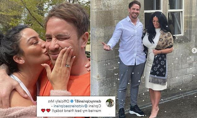Danny Cipriani reveals he's married fiancee Victoria