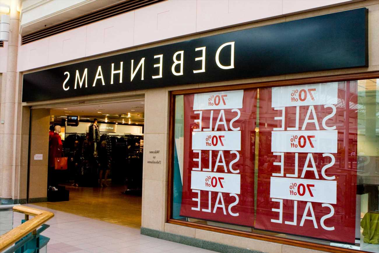 Debenhams closing down sale: Boohoo takes over website as up to 70% sale starts in stores