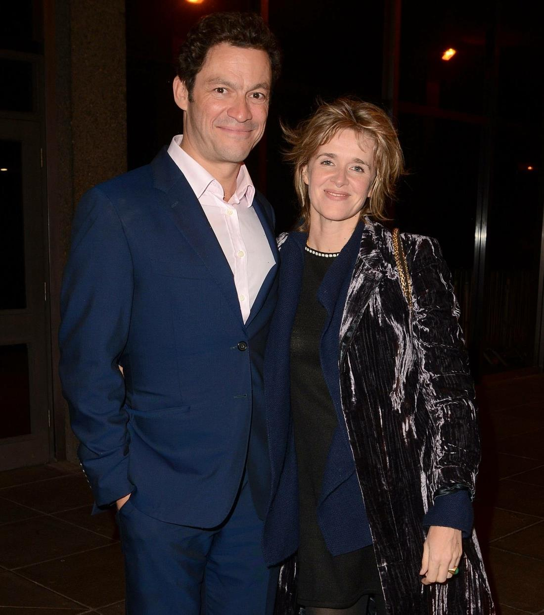 Dominic West & Catherine FitzGerald have reconciled but he has to follow 'strict rules'