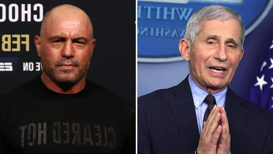 Dr Anthony Fauci Corrects Joe Rogan's 'Incorrect' Vaccine Comments