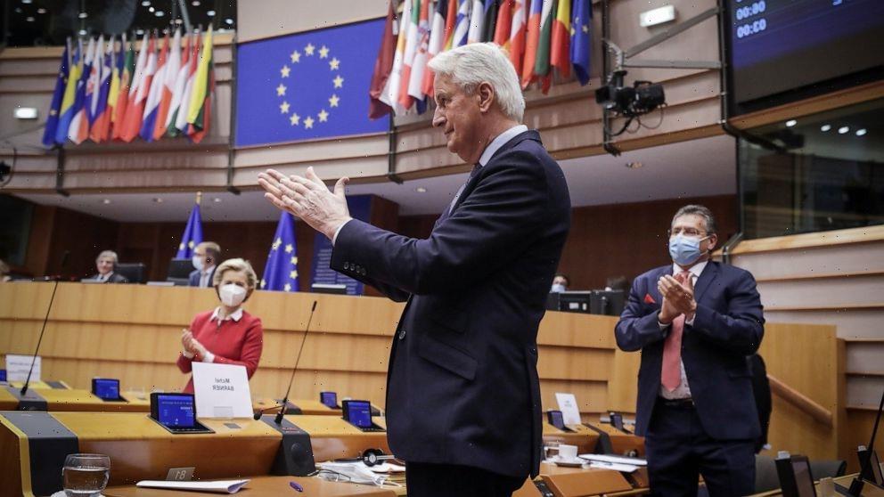 EU lawmakers approve post-Brexit trade treaty