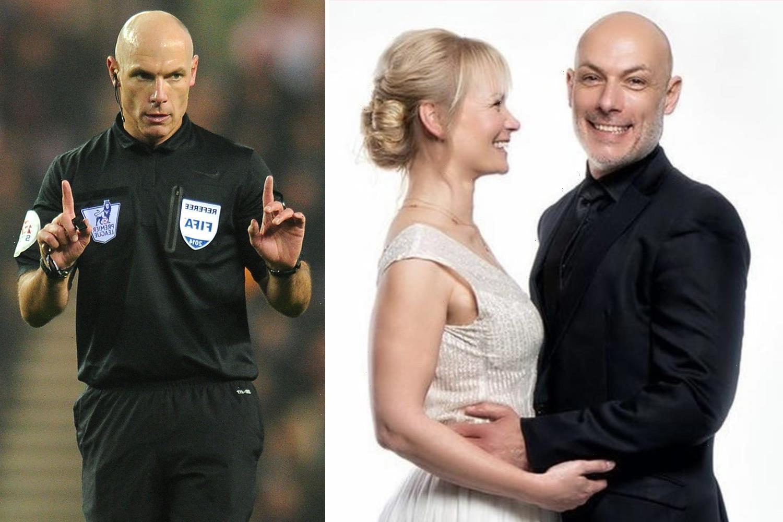 Ex-Prem referee Howard Webb marries German VAR Bibiana Steinhaus in secret but continues long-distance relationship