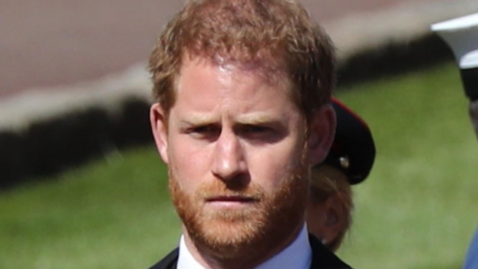 Experts Reveal The One Thing Harry Did At Philip's Funeral Differently Than His Family