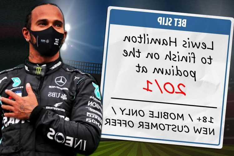 F1 Portuguese GP: 20/1 odds for Lewis Hamilton to finish in top three
