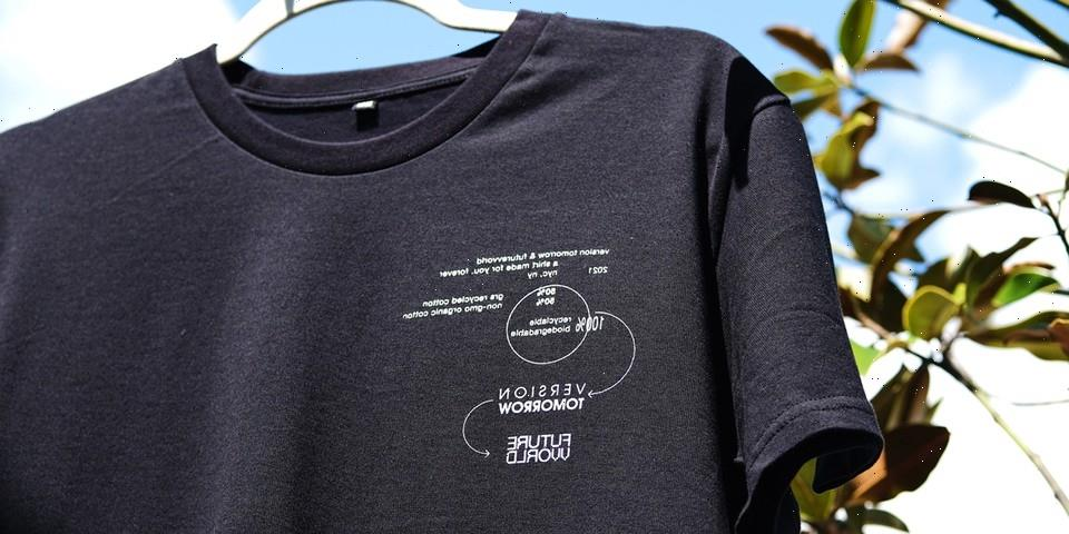 FUTUREVVORLD Teams with Version Tomorrow For Sustainable Graphic T-Shirts
