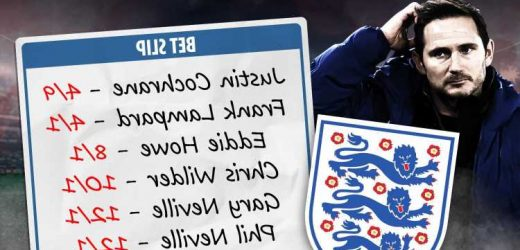 Frank Lampard & Justin Cochrane favourites for England U21 job after Aidy Boothroyd exit, John Terry also in the frame
