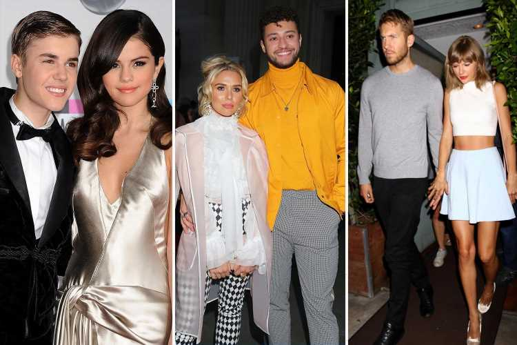 From Taylor Swift and Calvin Harris to Justin Bieber and Selena Gomez — these celeb romances turned seriously sour