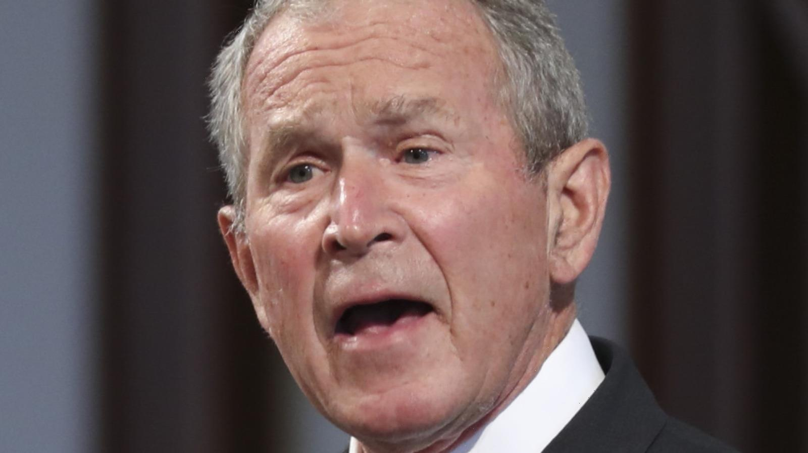 George W. Bush Couldn't Believe His Friendship With This Person Caused Such A Stir